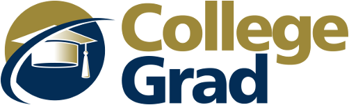 CollegeGrad Logo - Stacked