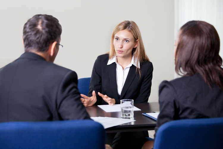 Candidate gives compelling answer in interview