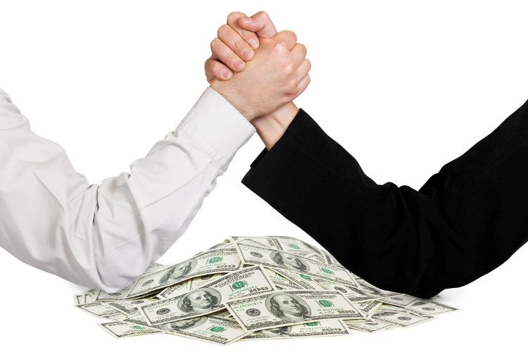 Is negotiation just arm wresling over money?